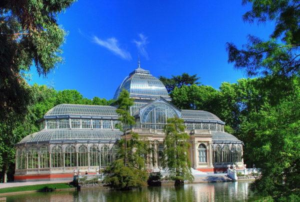 Хрустальный дворец в Мадриде фото