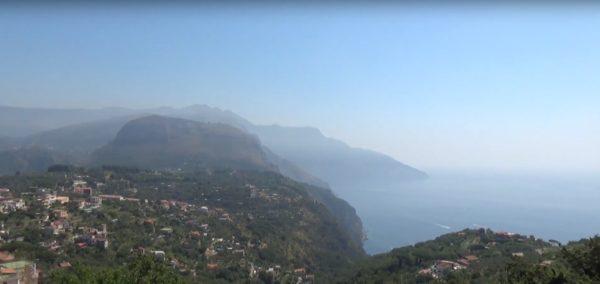 Амальфитанское побережье Италии карта