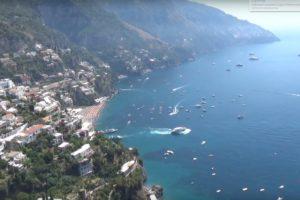 Амальфитанское побережье Италии карта, фото и видео