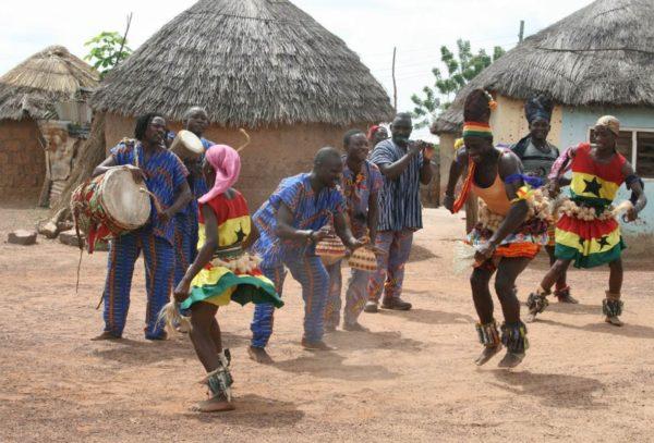 Африканская деревня в Большом Утрише