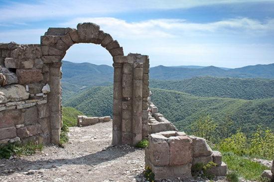 Грозовые ворота в Геленджике