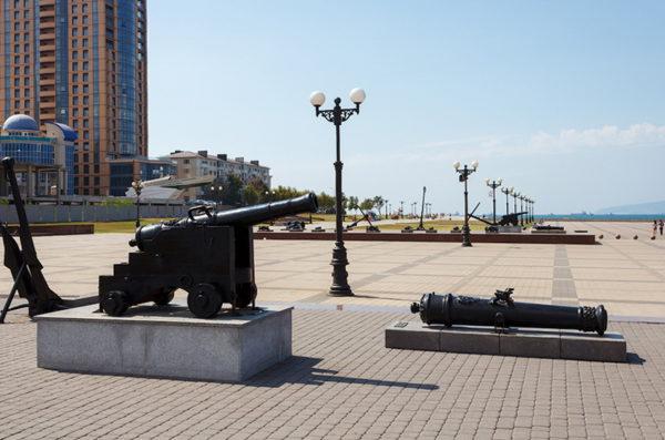Набережная адмирала Серебрякова в Новороссийске