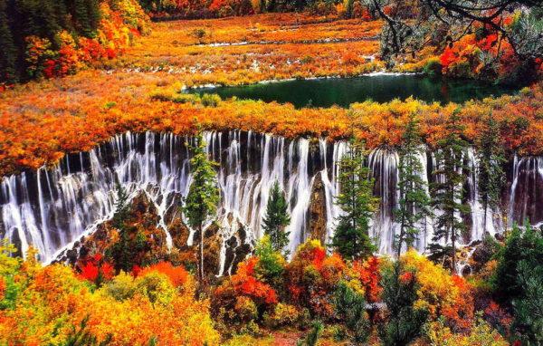 Провожаем осень в Китае