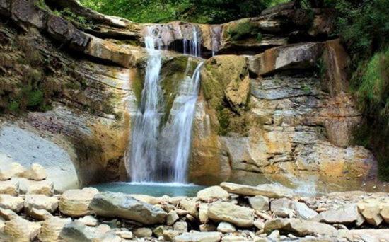 Пшадские водопады в Геленджике