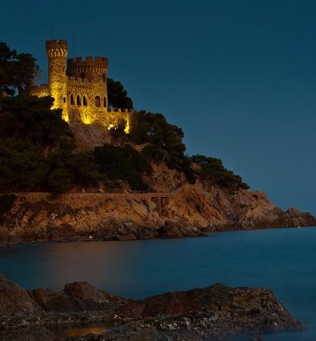 Замок Castell d'en Plaja в Льорет де Мар