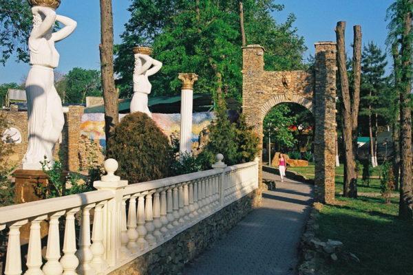Античный парк в Анапе