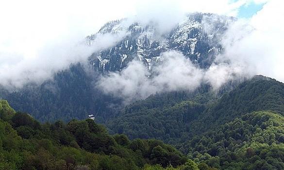 Гудаутский перевал фото