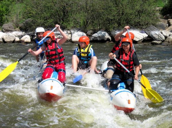 Экстремальный отдых на реке Опала