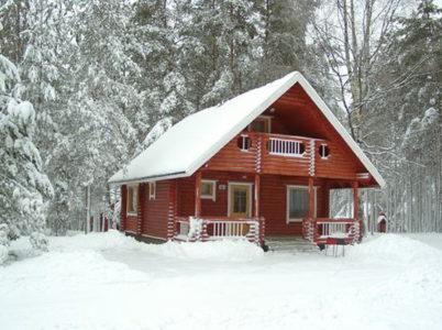 Снять домик в Ленинградской области на Новый год