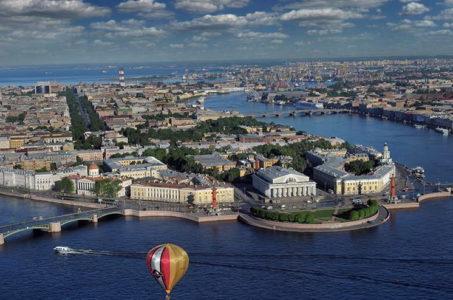 Вертолётная экскурсия СПб цена