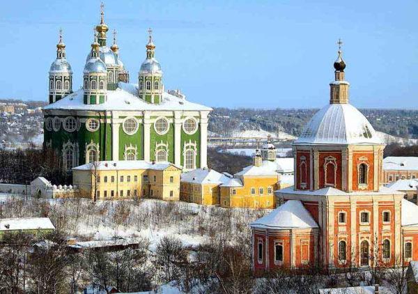 Едем в Смоленск на Новый год