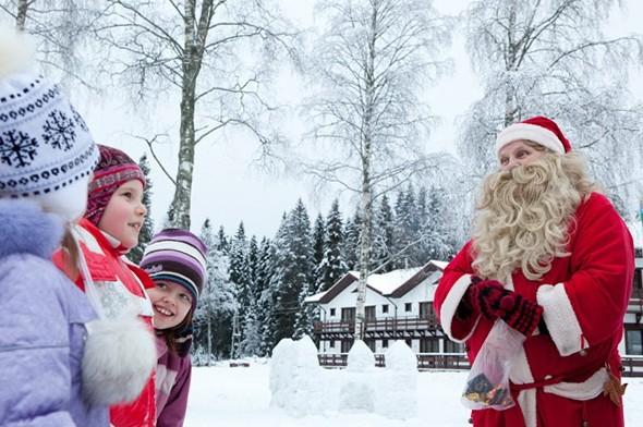 Карелия на зимние праздники