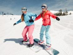 Катание на сноуборде для начинающих