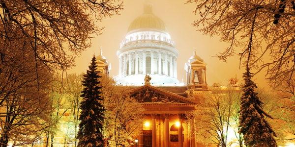 Зимние праздники в Санкт-Петербурге