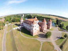 Мирский замок Беларусь фото