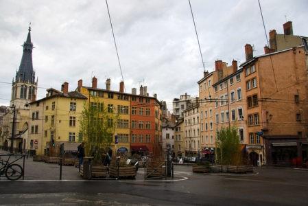 Лион город во Франции достопримечательности и световое шоу