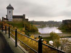 Запись на границу с Эстонией Нарва и выезд Эстонии Нарва