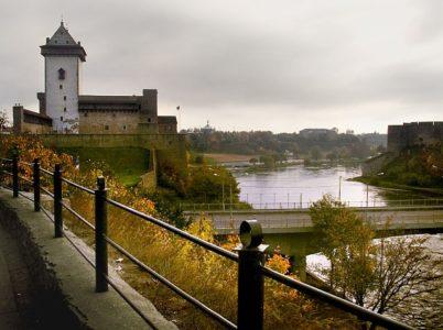 Запись на границу с Эстонией Нарва