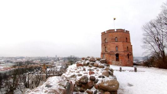 Вильнюс Достопримечательности зимой
