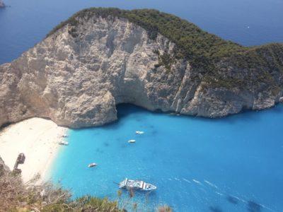 бухта наваё греция фото