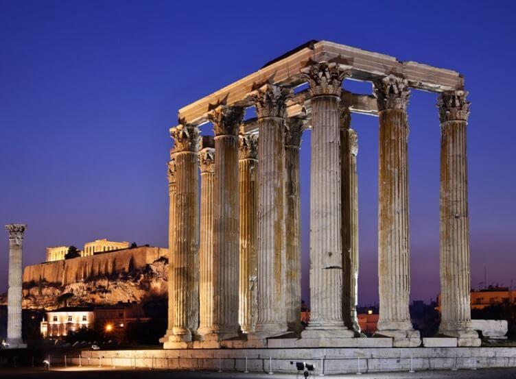 Афины достопримечательности фото и описание