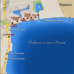 Израиль Красное море курорты