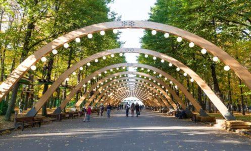 Парки Москвы фото с названиями