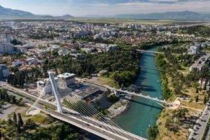 Черногория на карте мира