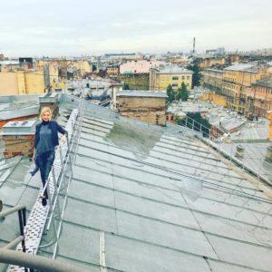 Прогулка по крышам Санкт-Петербурга