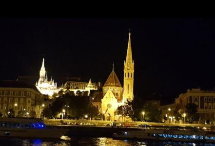 Прогулка по Дунаю в Будапеште